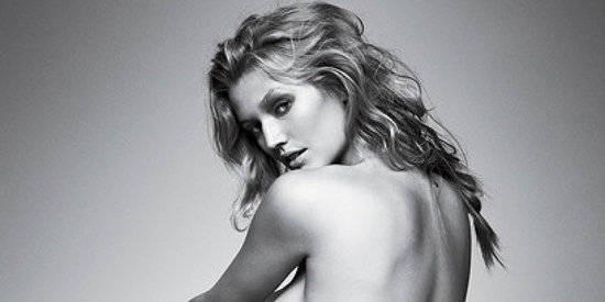 Toni Garrn Goes Topless In GQ
