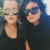 Kylie Jenner and Khloe Kardashian Beauty