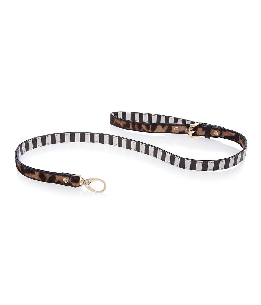 Who wouldn't want to be kept on a short leash when it's a Henri Bendel haircalf version ($128)?