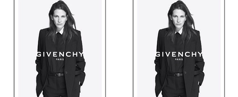 Givenchy's New Muse: It's Julia Roberts, But Not as You Know Her