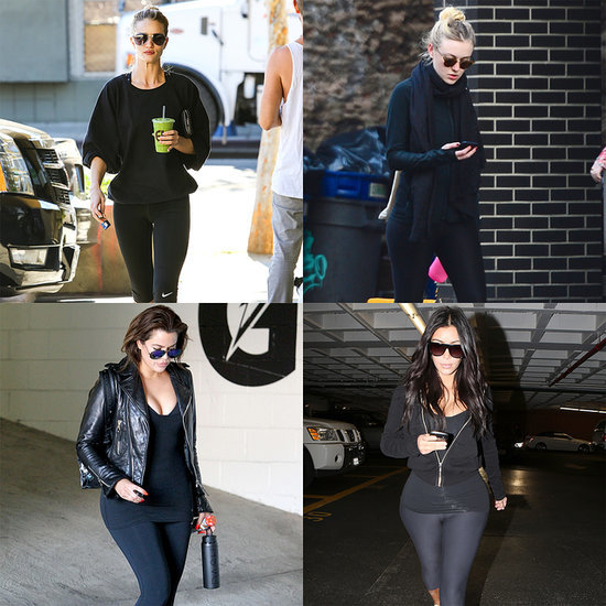 Recent Pics of Celebrities, Kim Kardashian Working Out