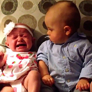 Video of Little Boy Confused by Twin Babies