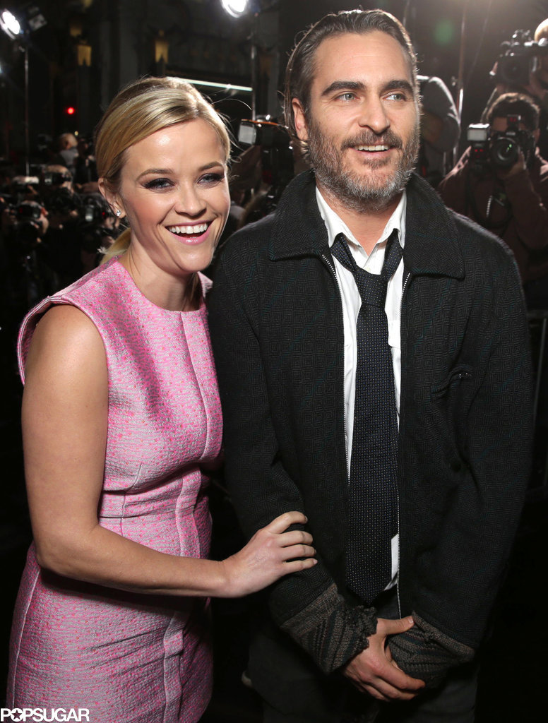 Reese Witherspoon and Joaquin Phoenix at Premiere 2014 ...