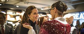 Jenna Lyons Wore Sequins to Meet Kate Middleton