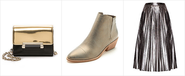 Sparkle and Shine This Holiday Season With These 35 Metallic Pieces