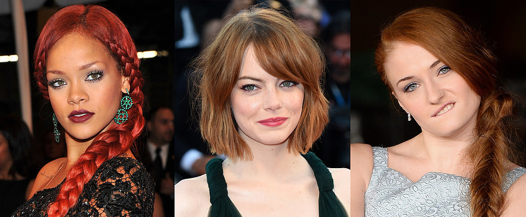 12 Celebrities Who Prove That Anyone Can Be a Redhead