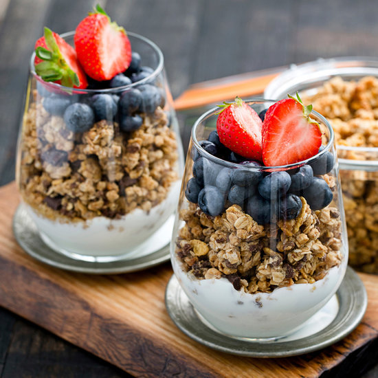 Healthy Three-Ingredient Parfait