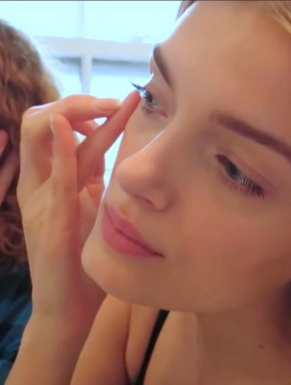 Lily Donaldson's Trick for Sculpting Perfect Cheekbones