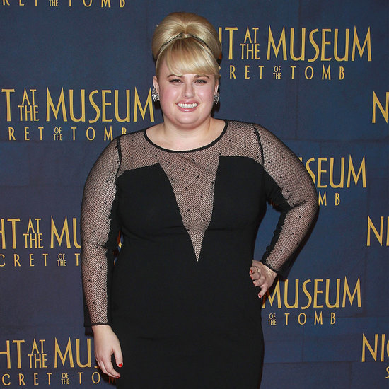 Rebel Wilson Black Dress Style Night at the Museum Premiere