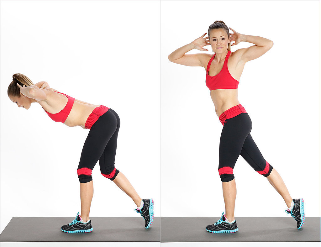 Lower Body and Core: Rotating Deadlift