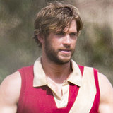 Liam Hemsworth on the Set of The Dressmaker 2014