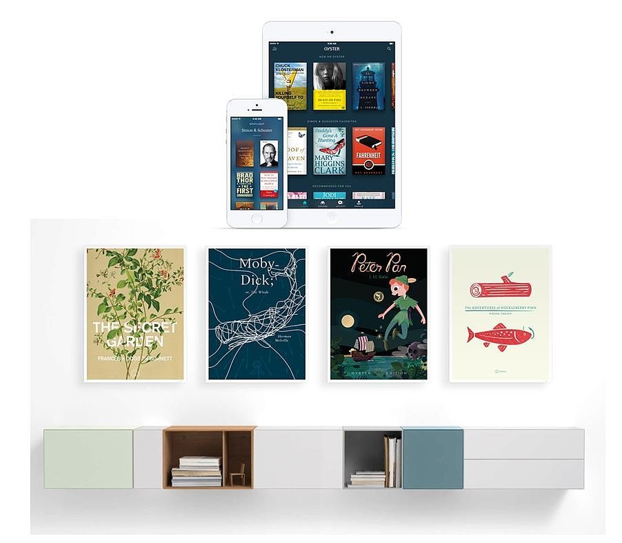 Oyster Ebooks Subscription