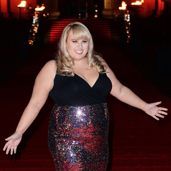 Rebel Wilson Style in ASOS Curve Sparkly Dress