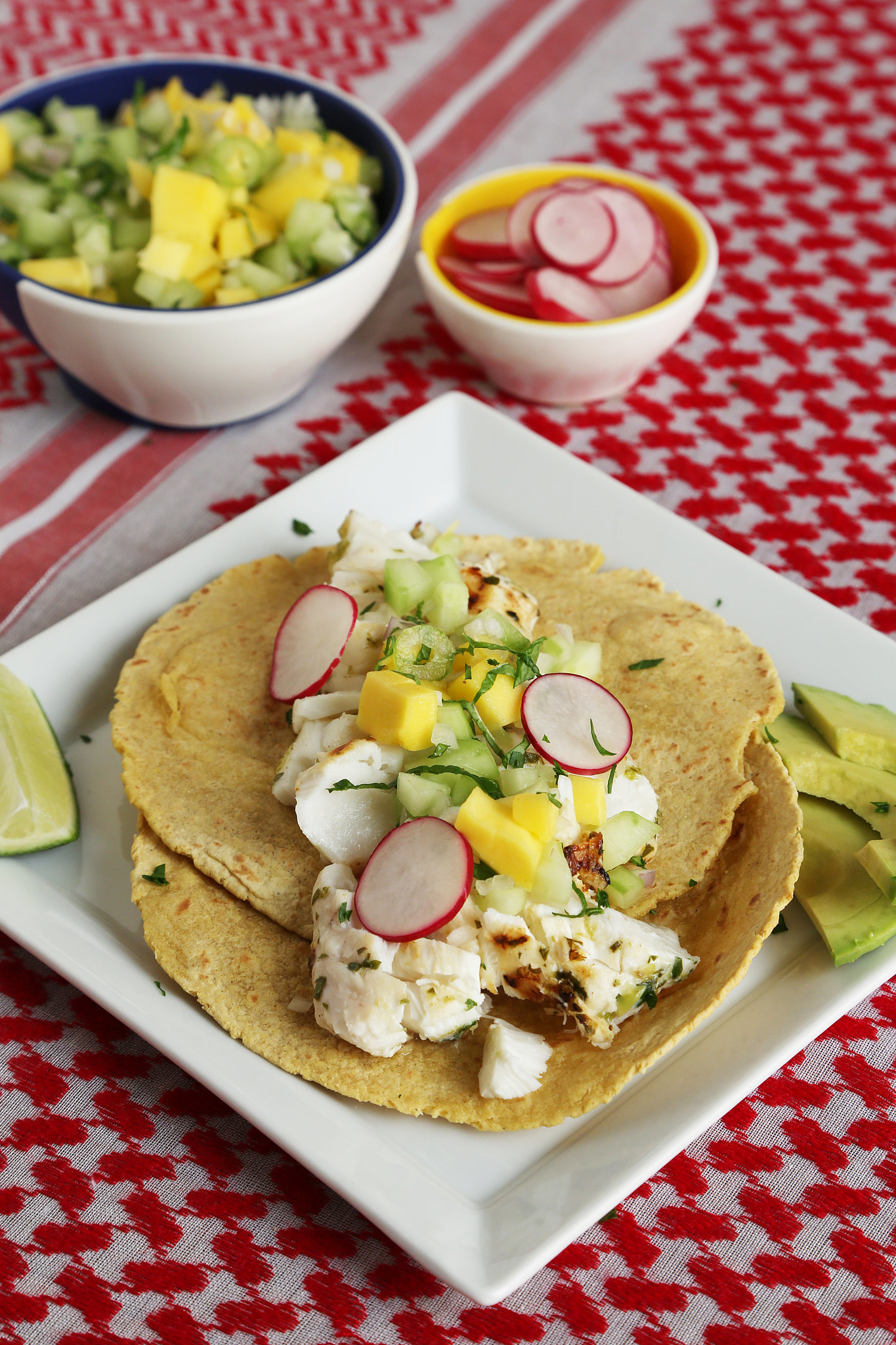 Grilled Fish Tacos With Mango-Cucumber-Mint Salsa | The 15 Best Fast ...