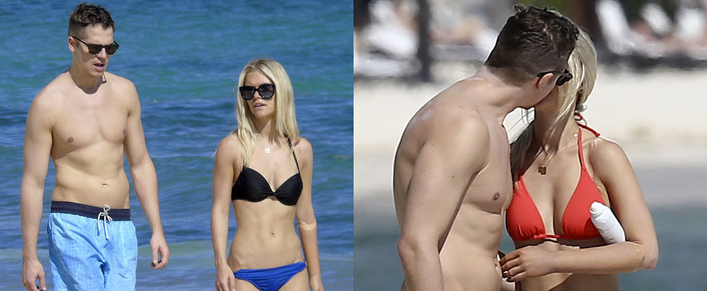 Jason Kennedy and Lauren Scruggs Bring Their Newlywed Bliss to the Beach!