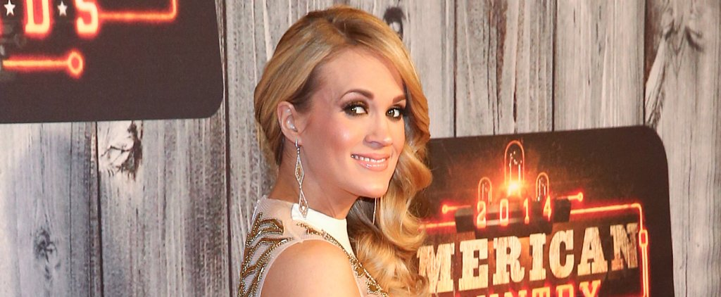 Carrie Underwood's Bronze Eye Shadow Is the Secret to a Sexy Stare
