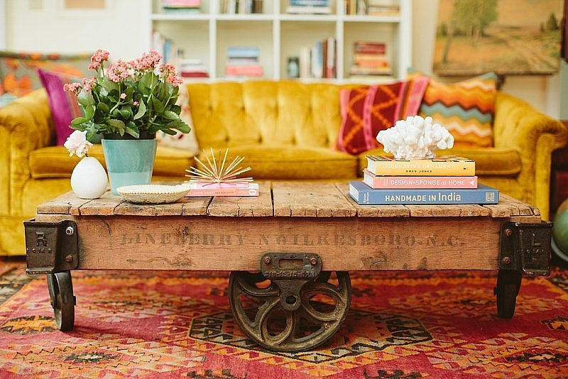 Nontraditional furniture 13 decorating risks worth Home n decor furniture
