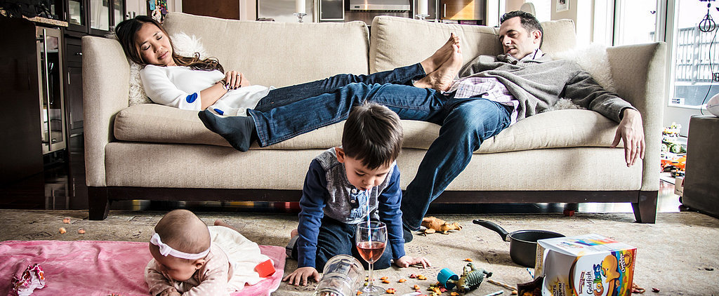 "POPSUGAR Shout Out: Photographer Beautifully Captures the ""Ugly"" Side of Parenting"
