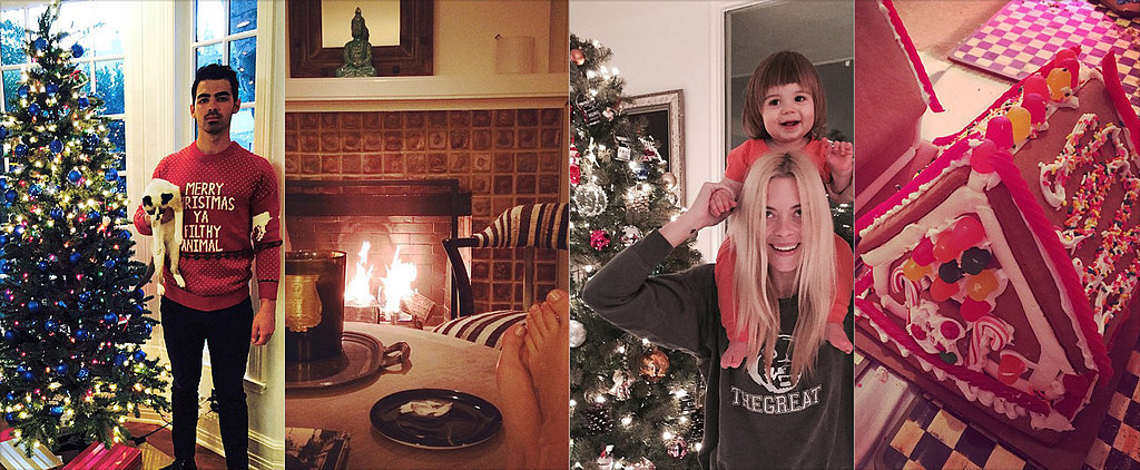 How Stars Celebrate the Holidays at Home