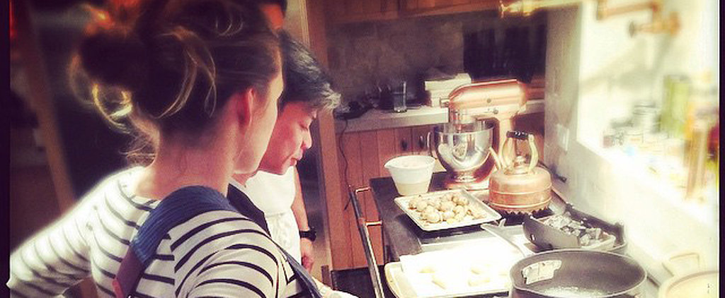 Blake Lively Shows Off Her Cooking Skills — and Her Bump! — in the Kitchen