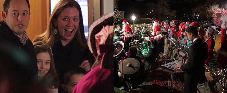 This Family Got the Coolest, Most Epic Christmas Carol Surprise of a Lifetime