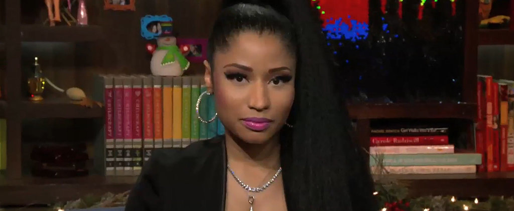 Nicki Minaj's Latest Wardrobe Malfunction Is So Incredibly Awkward