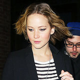 Jennifer Lawrence With David O. Russell in NYC | Pictures