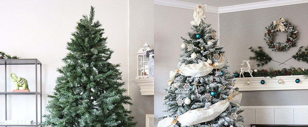 How to Make a Fake Christmas Tree Look Expensive