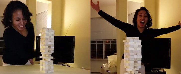 Prepare to Have Your Mind Blown by This Woman's Crazy Jenga Skills