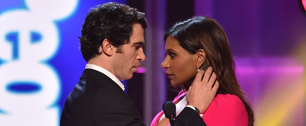 Watch Mindy Kaling and Chris Messina Share a Steamy Moment on Stage