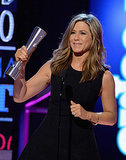 Jennifer Aniston wins PEOPLE Magazine Award Oscar hustling harder than everyone everywhere