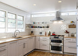 Better Circulation for a Family Kitchen and Bathroom (11 photos)
