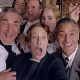 George Clooney on Downton Abbey | Video