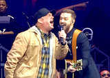 "Justin Timberlake Sings ""Friends in Low Places"" With Garth Brooks in Spirited Performance: Watch"