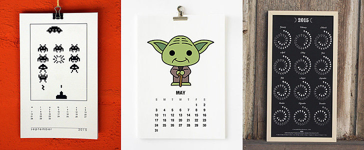 20 Geeky Calendars For 2015
