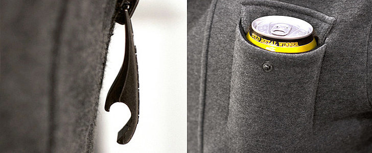 The Drinking Jacket That's Raised More Than 10 Times Its Kickstarter Goal