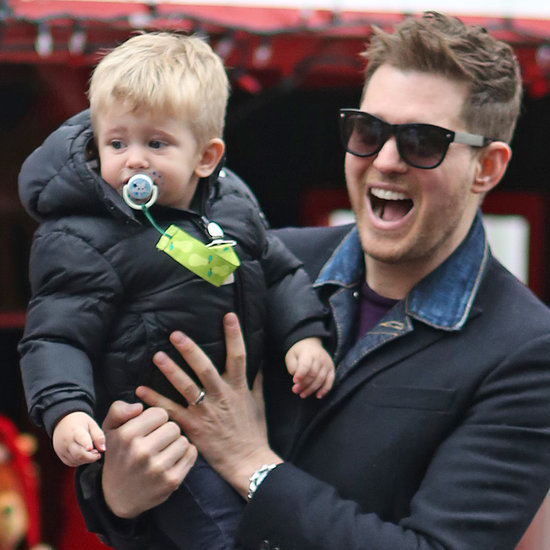 Michael Buble and Family Celebrate Christmas in Vancouver