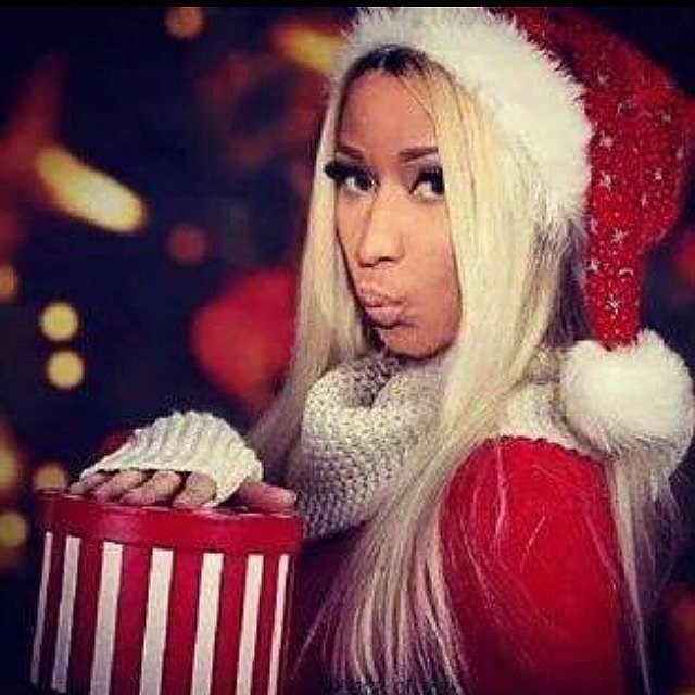 In 2014, Nicki Minaj dressed up in a sultry Santa suit.