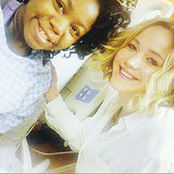 Jennifer Lawrence Visits a Children's Hospital on Christmas Eve