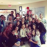 Jennifer Lawrence Visits Kosair Children's Hospital