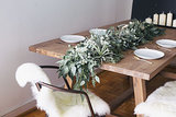 DIY: Freshen Up for the New Year With a Eucalyptus Table Garland (13 photos)