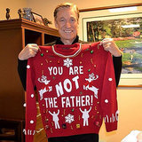 "Maury Povich's ""You Are Not the Father"" Christmas Sweater"