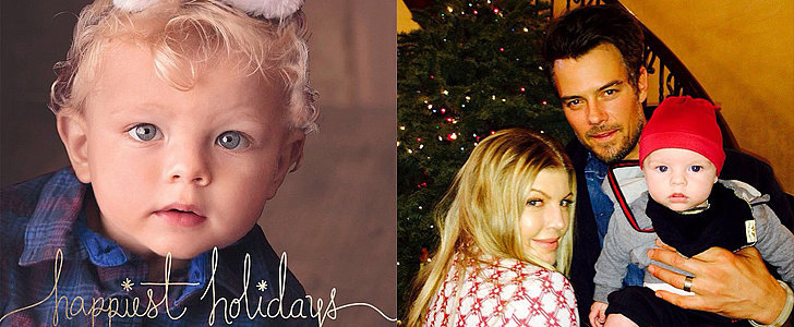 Fergie and Josh Duhamel's Son, Axl, Stars in Their Adorable Holiday Card