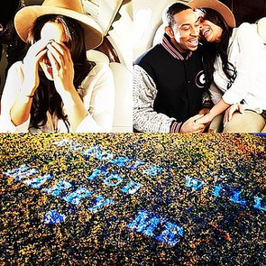 Ludacris Proposes to Girlfriend Eudoxie Agnan On a Plane