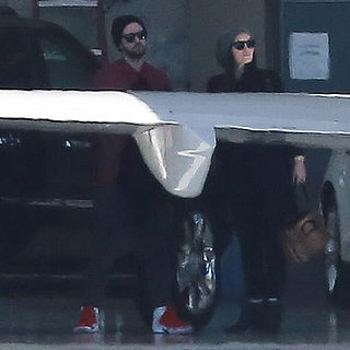 Justin Timberlake and Jessica Biel Private Jet On Holiday