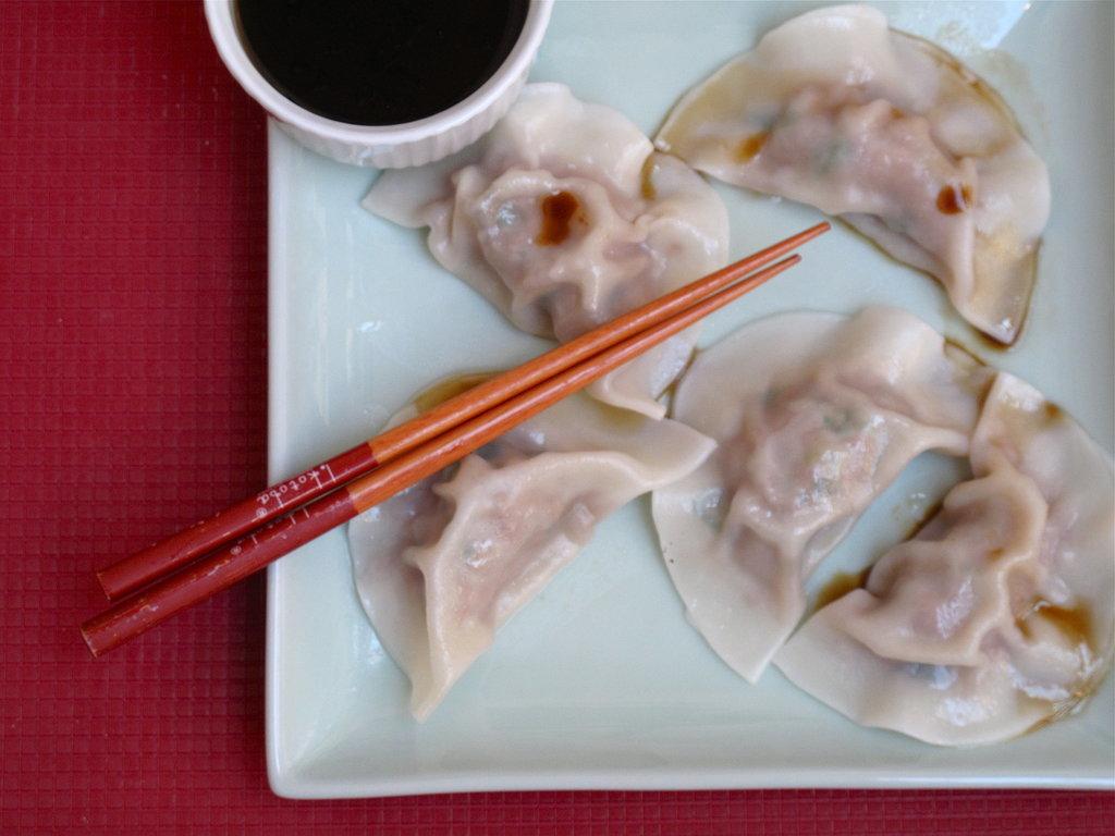 Shui Jiao (Chinese Pork Dumplings)