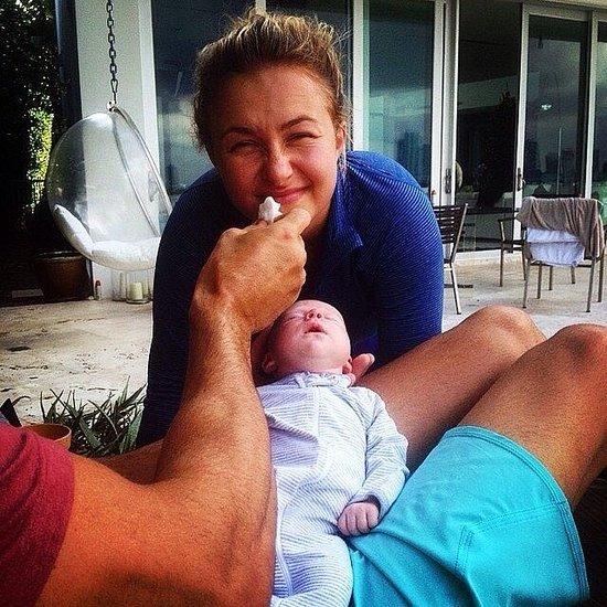 Hayden Panettiere Baby Girl Kaya Klitschko Pictures
