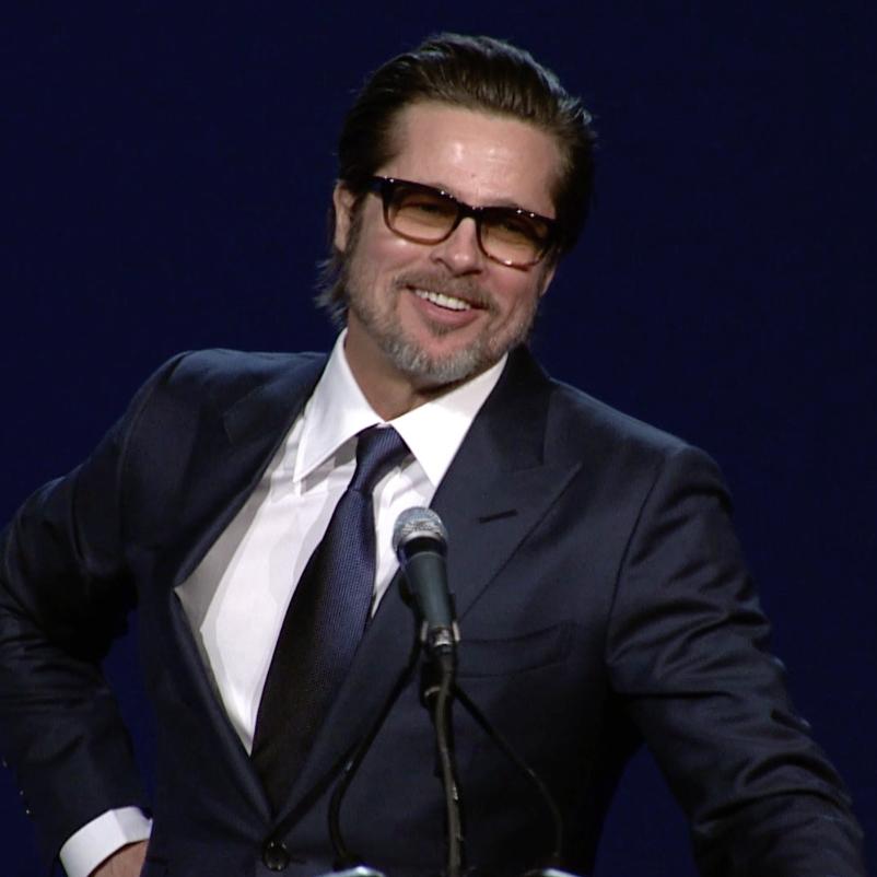 Brad Pitt's Speech at ...