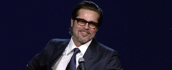 Watch Brad Pitt Lead an Award Season Crowd in an Impromptu Sing-Along