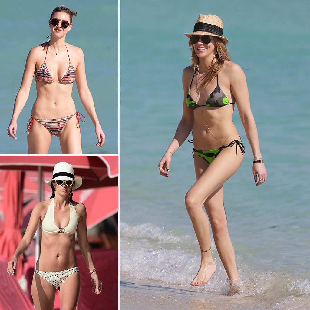 Into the Blue: 100+ Hot Pictures of Bikini-Clad Stars